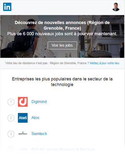 LinkedIn Digimind Grenoble